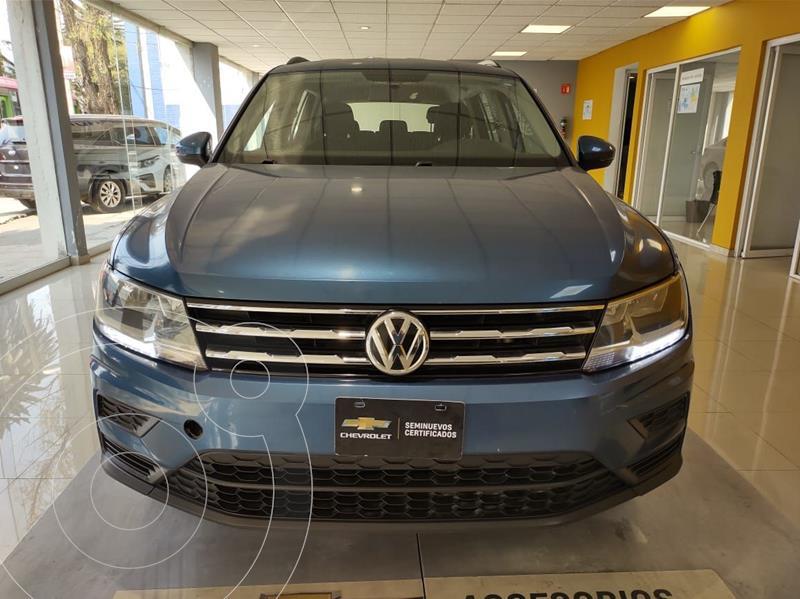 Volkswagen Tiguan Trendline Plus usado (2018) color Azul precio $299,500