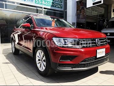 Volkswagen Tiguan 5p Trendline Plus 1.4 L4/1.4/T Aut usado (2019) color Rojo precio $355,000