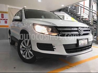 Volkswagen Tiguan 5p Sport&Style L4/1.4/T Aut usado (2014) color Blanco precio $196,500