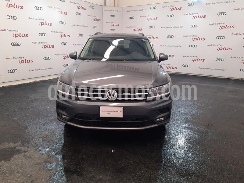 Volkswagen Tiguan Comfortline 7 Asientos Tela usado (2019) color Gris Platino precio $440,000