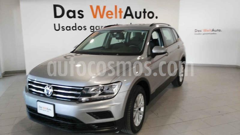 Foto Volkswagen Tiguan Trendline Plus usado (2019) color Plata precio $359,900