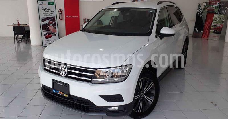 Volkswagen Tiguan 5p Confortline L4/1.4/T Aut Piel usado (2019) color Blanco precio $339,900