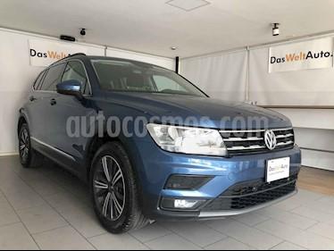 Volkswagen Tiguan 5p Confortline L4/1.4/T Aut 7 Pas usado (2019) color Azul precio $395,000