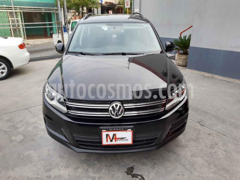 Volkswagen Tiguan Sport & Style 1.4 usado (2014) color Negro precio $215,000