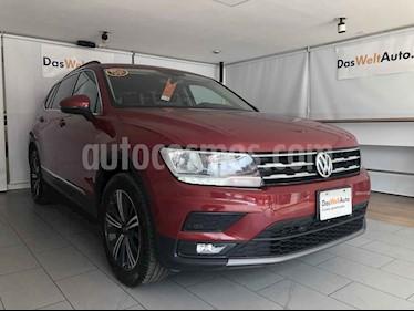 Volkswagen Tiguan 5p Confortline L4/1.4/T Aut 7 Pas usado (2019) color Rojo precio $425,000