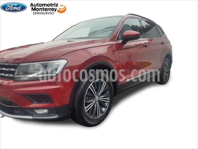 Volkswagen Tiguan Comfortline 5 Asientos Piel usado (2019) color Rojo precio $429,900