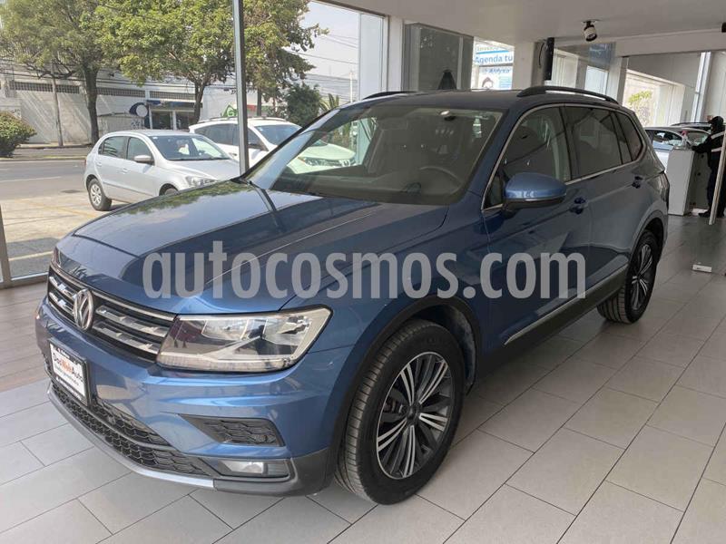 Volkswagen Tiguan Comfortline 7 Asientos Tela usado (2019) color Azul precio $405,000