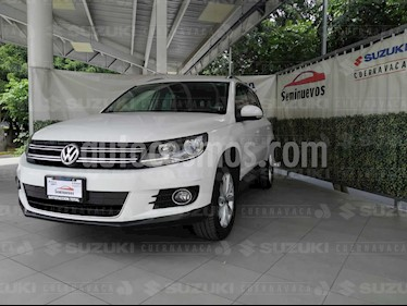 Volkswagen Tiguan Track & Fun Piel usado (2013) color Blanco Candy precio $215,000