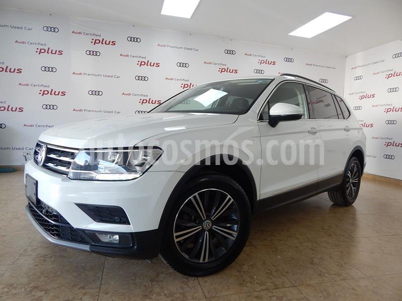 Volkswagen Tiguan Comfortline 7 Asientos Tela usado (2019) color Blanco precio $415,000