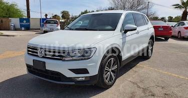 Volkswagen Tiguan 5p Confortline L4/1.4/T Aut Piel usado (2019) color Blanco precio $344,900