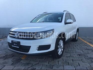 Foto venta Auto usado Volkswagen Tiguan Sport & Style 1.4 (2014) color Blanco Candy precio $219,900