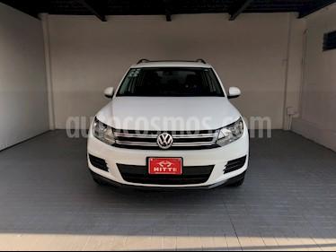 Volkswagen Tiguan Sport & Style 1.4 usado (2014) color Blanco Candy precio $219,000