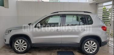 Volkswagen Tiguan Sport & Style 1.4 usado (2014) color Plata Reflex precio $220,000