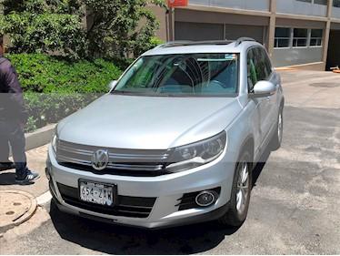 Volkswagen Tiguan Track & Fun 4Motion Piel usado (2013) color Plata Reflex precio $207,900