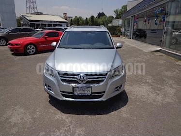 Volkswagen Tiguan Track & Fun 4Motion Piel usado (2010) color Plata precio $185,000