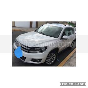 Volkswagen Tiguan Track & Fun Piel usado (2013) color Blanco Candy precio $186,500