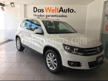 Foto venta Auto usado Volkswagen Tiguan Track & Fun Piel (2013) color Blanco Candy precio $219,000