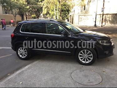 Volkswagen Tiguan Track & Fun Piel usado (2013) color Negro Profundo precio $220,000