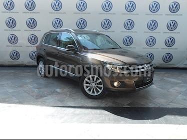 Foto venta Auto Seminuevo Volkswagen Tiguan Track & Fun Piel (2013) color Marron precio $265,000