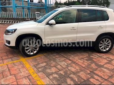 foto Volkswagen Tiguan Track & Fun  usado (2013) color Blanco Candy precio $214,900