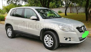 Volkswagen Tiguan Track & Fun usado (2011) color Plata Reflex precio $166,500