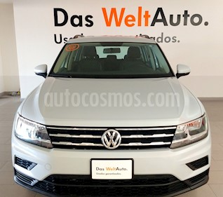 Foto Volkswagen Tiguan Trendline Plus usado (2018) color Blanco precio $348,000
