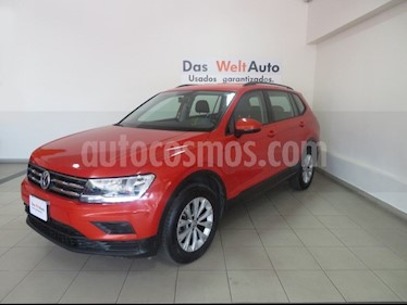 foto Volkswagen Tiguan Trendline Plus usado (2018) color Naranja precio $341,525