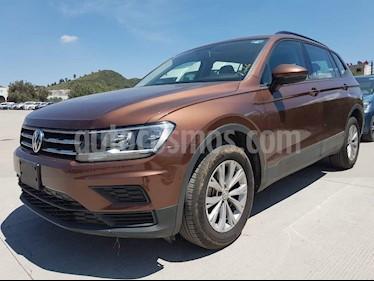 Volkswagen Tiguan Trendline Plus usado (2018) color Bronce precio $349,000