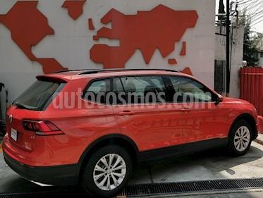 Volkswagen Tiguan Trendline usado (2018) color Naranja precio $355,000