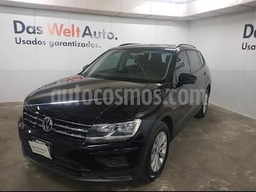 Foto venta Auto usado Volkswagen Tiguan Trendline (2018) color Negro precio $365,000