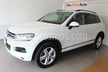 Foto venta Auto usado Volkswagen Touareg 3.0L V6 FSI Hybrid  (2013) color Blanco Campanella precio $330,000