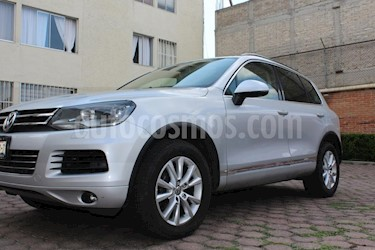 Volkswagen Touareg 3.0L V6 TDi Navegacion usado (2012) color Plata precio $298,000