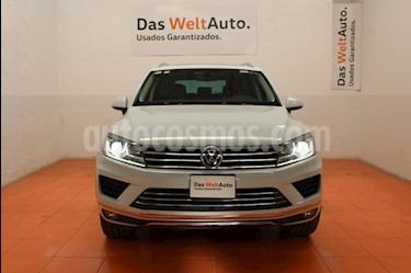 Foto venta Auto usado Volkswagen Touareg 3.0L V6 TDI (2016) color Blanco precio $582,000