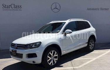 Foto venta Auto usado Volkswagen Touareg 3.0L V6 TDi  (2014) color Blanco precio $430,900