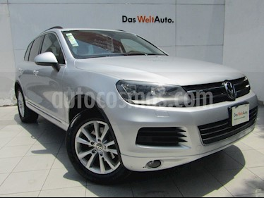 Foto venta Auto usado Volkswagen Touareg 3.6L V6 FSI Navegacion  (2014) color Plata precio $315,000