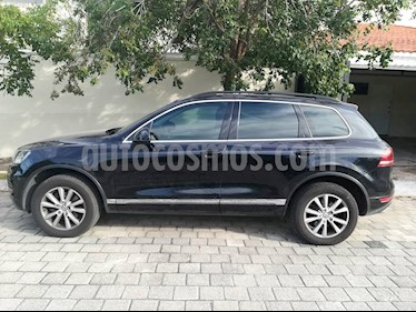 Foto venta Auto usado Volkswagen Touareg 3.6L V6 FSI Navegacion  (2013) color Negro Profundo precio $360,000