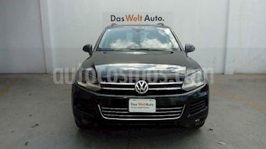 Foto venta Auto usado Volkswagen Touareg 3.6L V6 FSI  (2014) color Negro precio $324,994