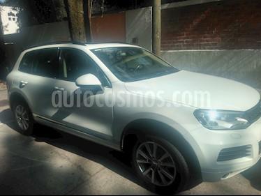 Foto venta Auto usado Volkswagen Touareg 3.6L V6 Premium (2014) color Blanco precio $324,500