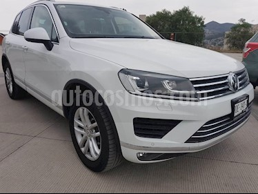 Foto venta Auto usado Volkswagen Touareg 3.6L V6 (2016) color Blanco Campanella precio $465,000