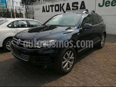 Foto venta Auto usado Volkswagen Touareg 5p Edition X V6/3.0 Aut (2014) color Negro precio $460,000