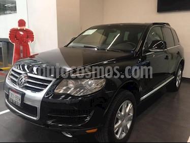 Volkswagen Touareg 5p V8 Tiptronic A/A Clim 4x4 R-19 usado (2009) color Negro precio $215,900