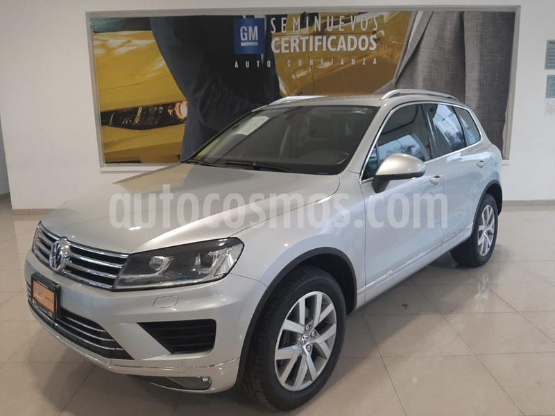 Volkswagen Touareg 3.0L V6 TDi  usado (2015) color Plata Dorado precio $435,000