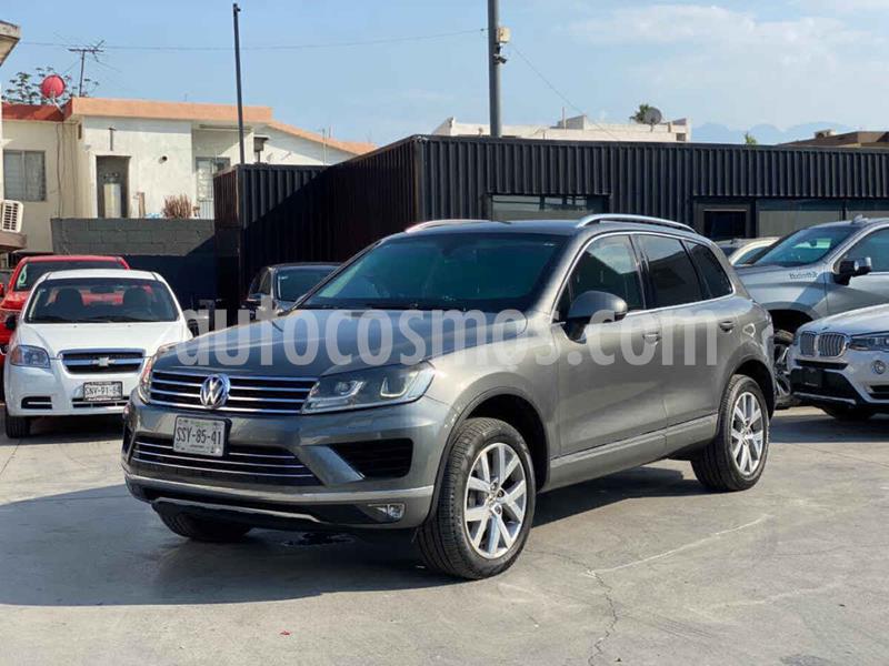 Volkswagen Touareg 3.0L V6 TDi  usado (2015) color Plata precio $950,800