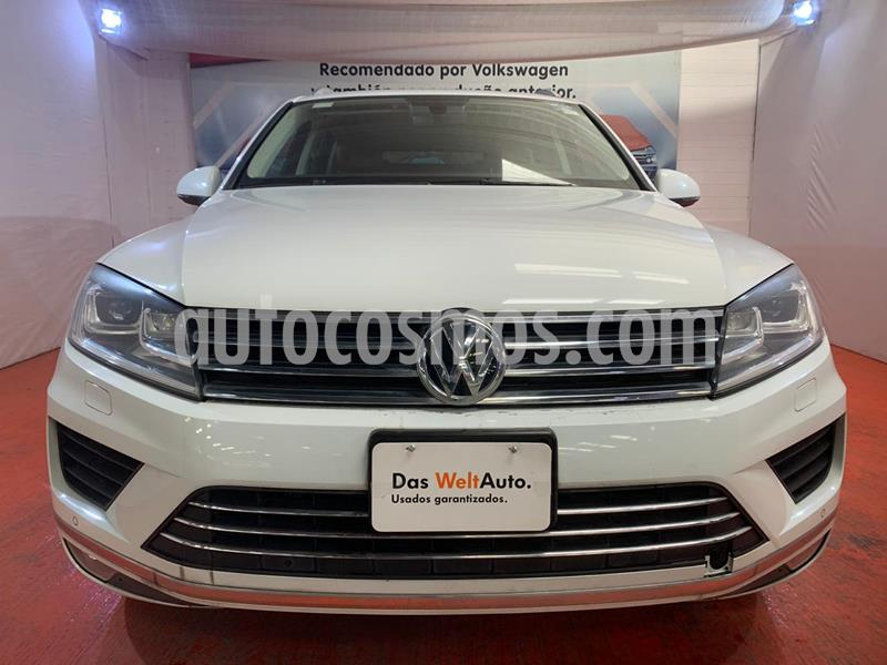 Volkswagen Touareg 3.6L V6 FSI Navegacion  usado (2017) color Blanco precio $495,000