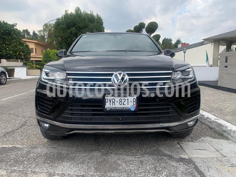 Volkswagen Touareg 3.0L TDI usado (2018) color Negro Onix precio $750,001
