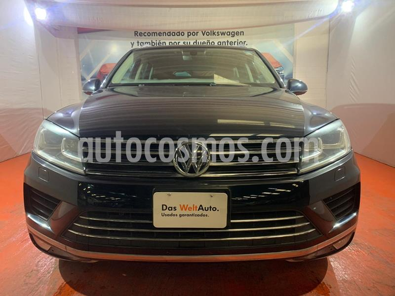 Volkswagen Touareg 3.6L V6 FSI Navegacion  usado (2017) color Azul Noche precio $506,000