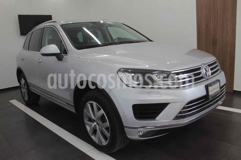 Volkswagen Touareg 3.0L V6 FSI Hybrid usado (2016) color Plata precio $449,000