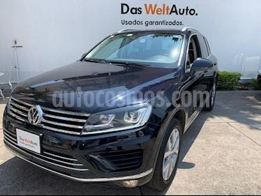 Volkswagen Touareg 3.0L V6 TDI usado (2016) color Negro precio $499,900