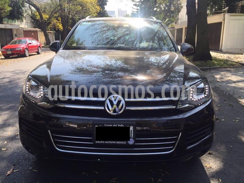 Volkswagen Touareg 3.0L V6 FSI Hybrid  usado (2014) color Negro precio $250,000