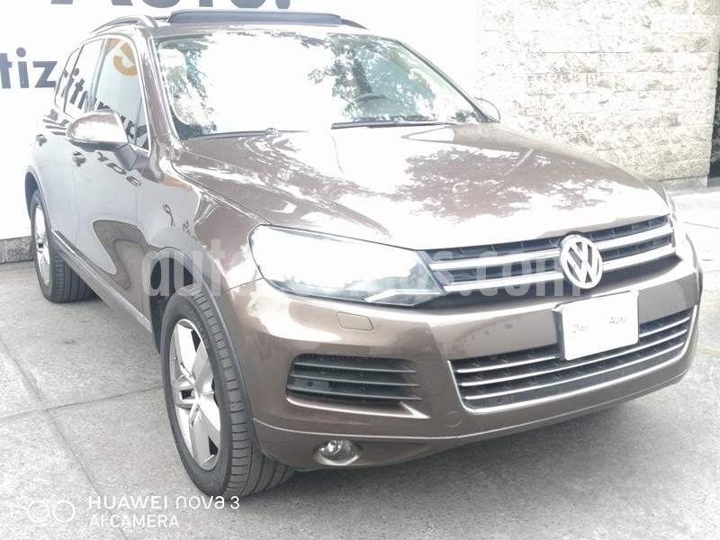 Volkswagen Touareg 3.0L V6 TDi  usado (2013) color Marron precio $310,000